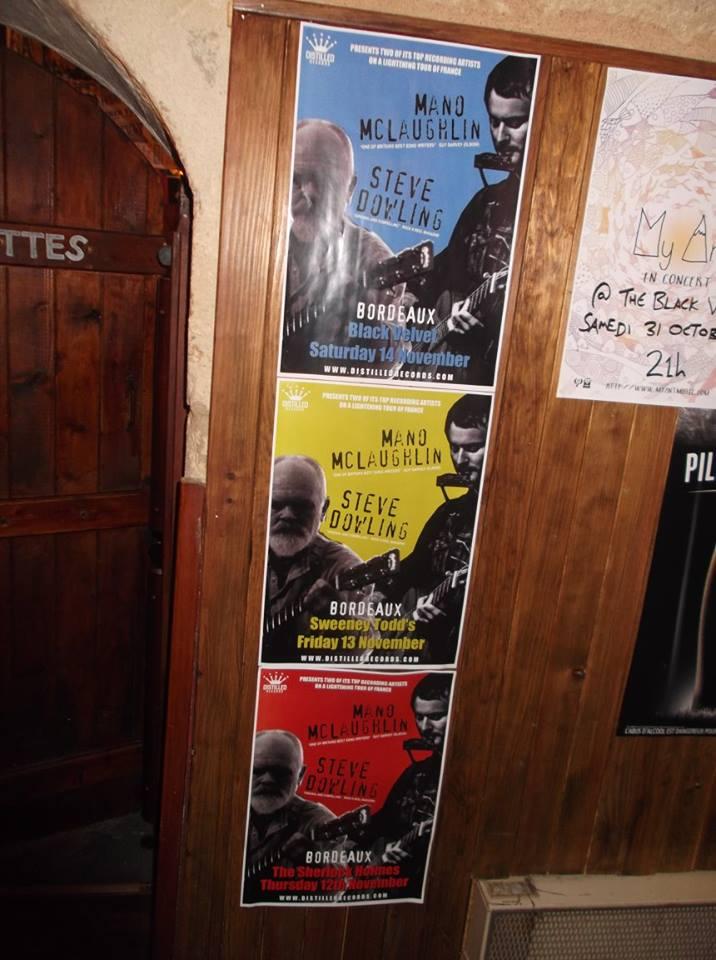 Distilled Records Tour - France 2015 - MANO McLAUGHLIN